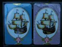 Collectible playing cards. 1970 Worshipful Tall Ships